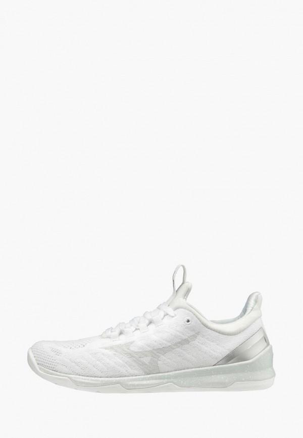 женские кроссовки mizuno, белые