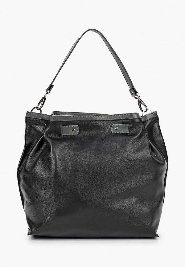 женская сумка с ручками lui lu, черная