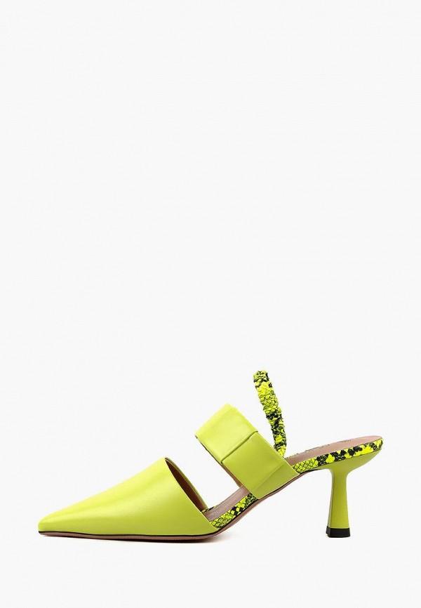 женские босоножки leberdes, зеленые