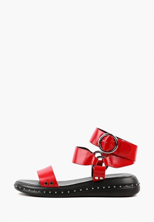 женские сандалии leberdes, красные
