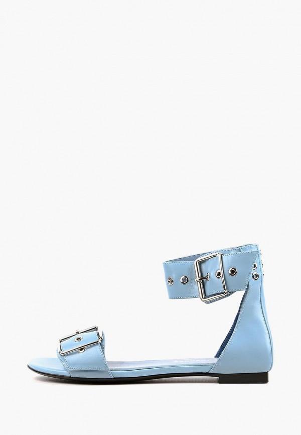 женские сандалии leberdes, голубые
