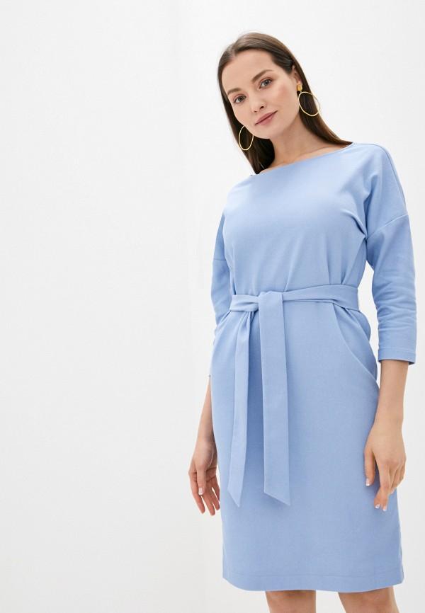 Платье Kira Plastinina цвет голубой