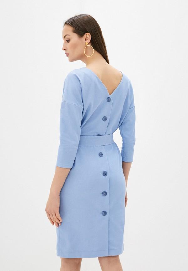 Платье Kira Plastinina цвет голубой  Фото 3