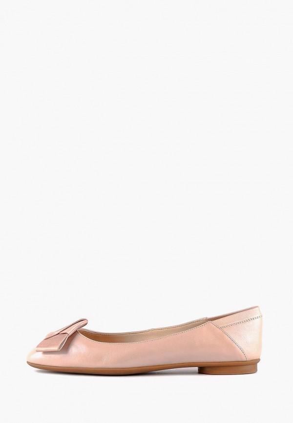 женские балетки leberdes, розовые