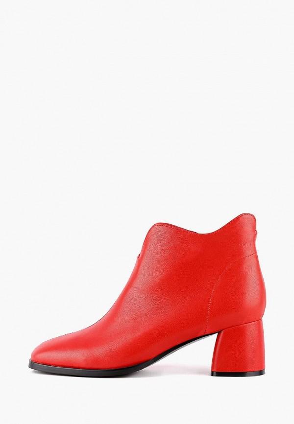 женские ботильоны leberdes, красные