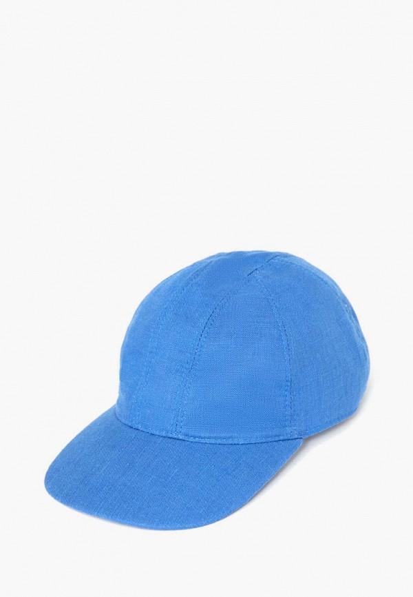 женская бейсболка finn flare, синяя