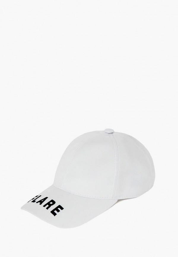 Бейсболка Finn Flare белого цвета