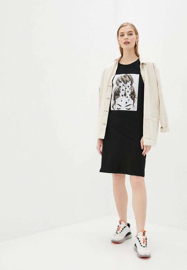 Платье Whitney цвет черный  Фото 2