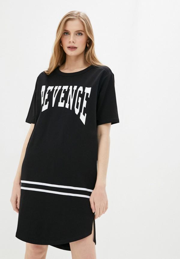 Платье Whitney цвет черный