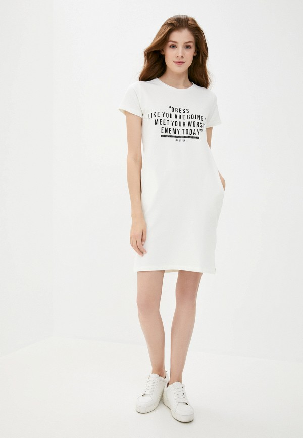 Платье Whitney цвет белый  Фото 2