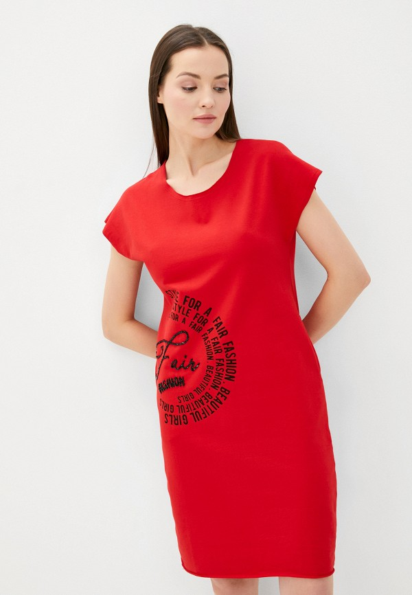Платье Whitney цвет красный