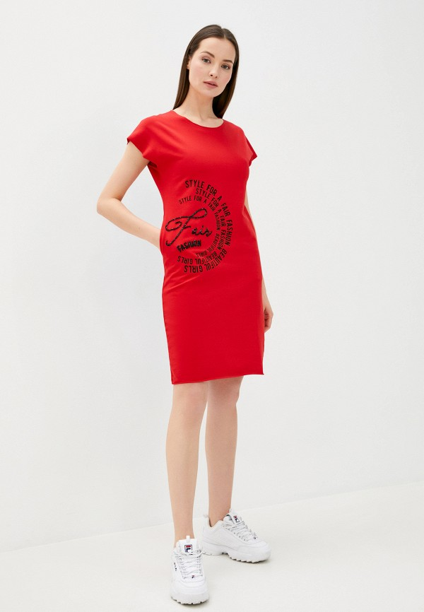 Платье Whitney цвет красный  Фото 2