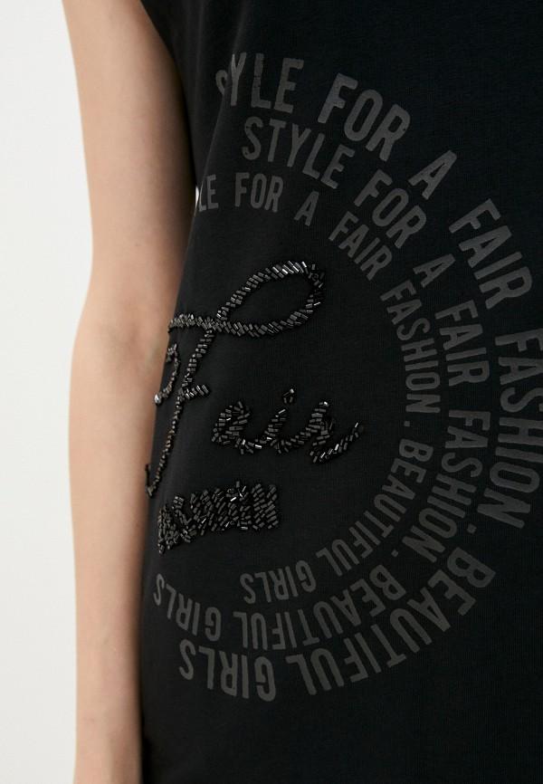Платье Whitney цвет черный  Фото 4