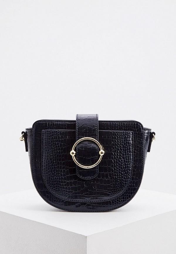 женская сумка через плечо claudie pierlot, синяя