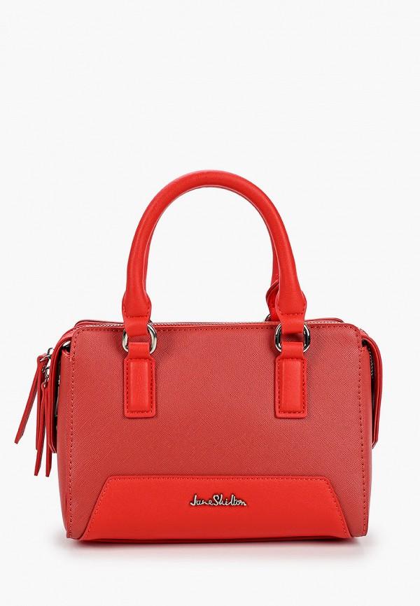 Сумка Jane Shilton цвет красный