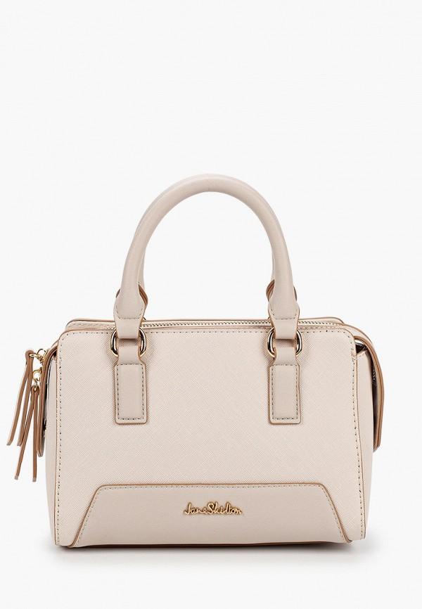 женская сумка через плечо jane shilton, белая