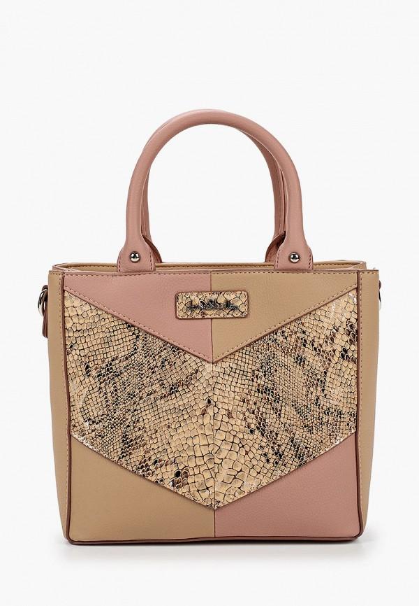 женская сумка через плечо jane shilton, бежевая