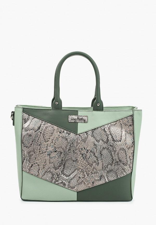 женская сумка с ручками jane shilton, зеленая