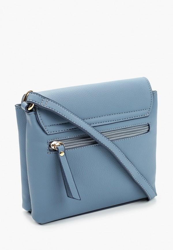 Сумка Jane Shilton цвет голубой  Фото 2
