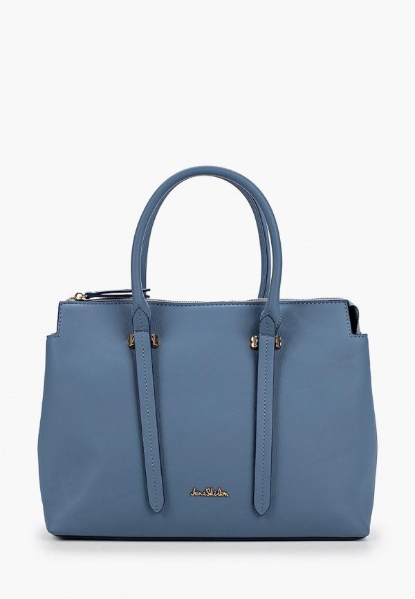 женская сумка с ручками jane shilton, голубая