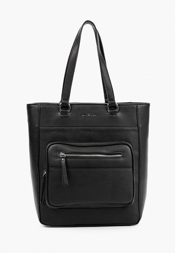 женская сумка с ручками jane shilton, черная