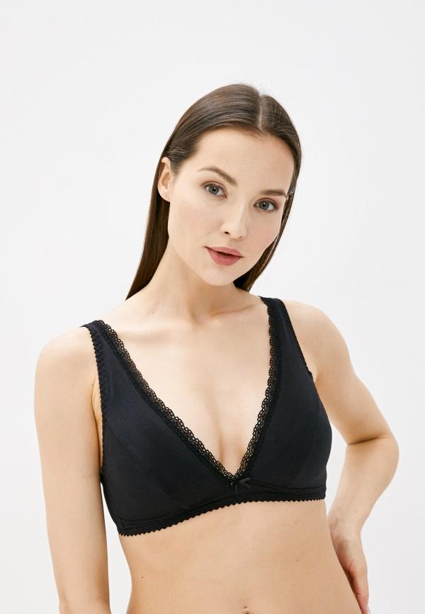 женский бюстгальтер без косточек mark formelle, черный