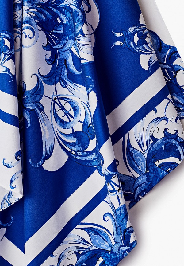 Платок Русские в моде цвет синий  Фото 2