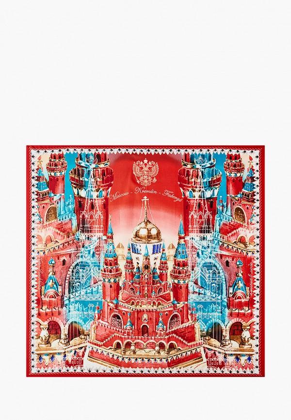Платок Русские в моде цвет красный