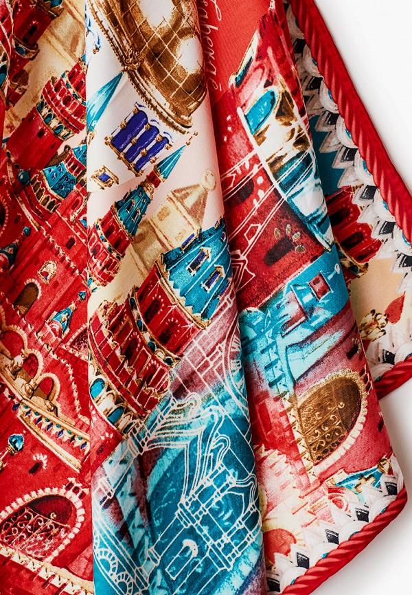 Платок Русские в моде цвет красный  Фото 2