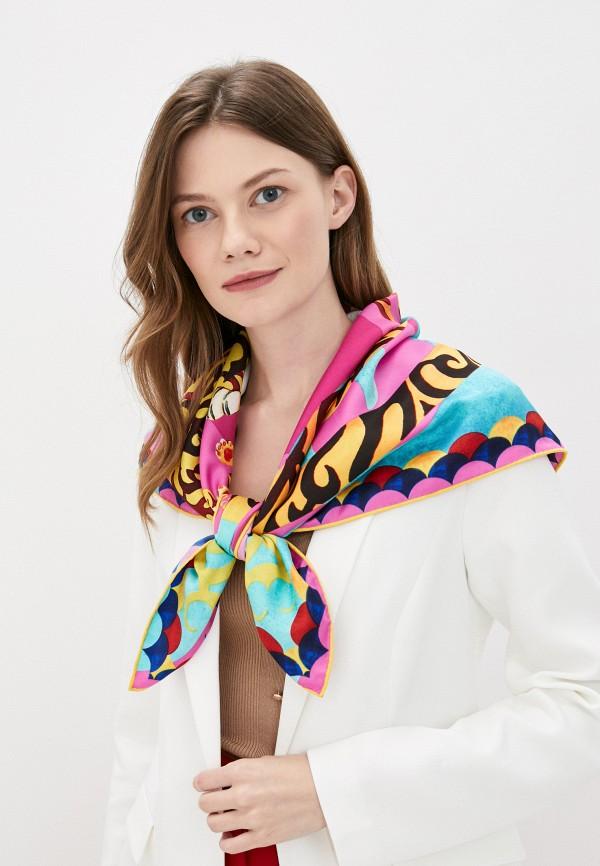 Платок Русские в моде цвет разноцветный  Фото 3