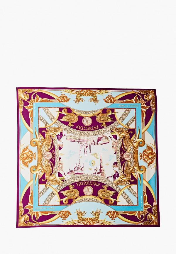 Платок Русские в моде цвет разноцветный