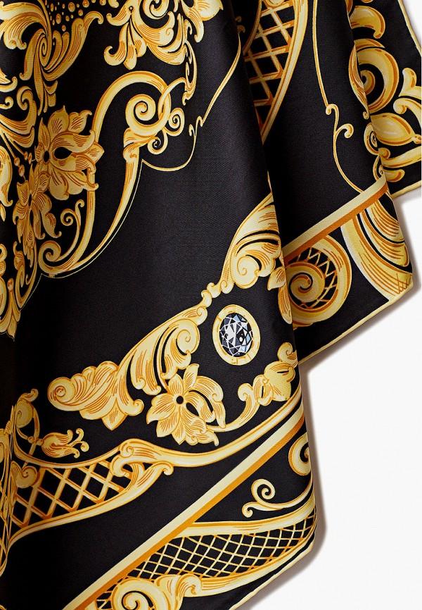 Платок Русские в моде цвет черный  Фото 2