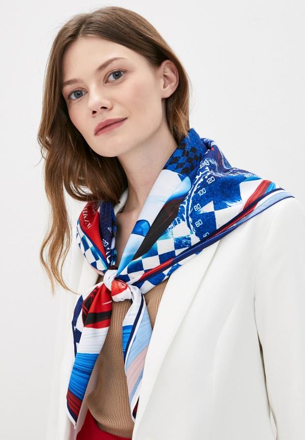 Платок Русские в моде цвет синий  Фото 3
