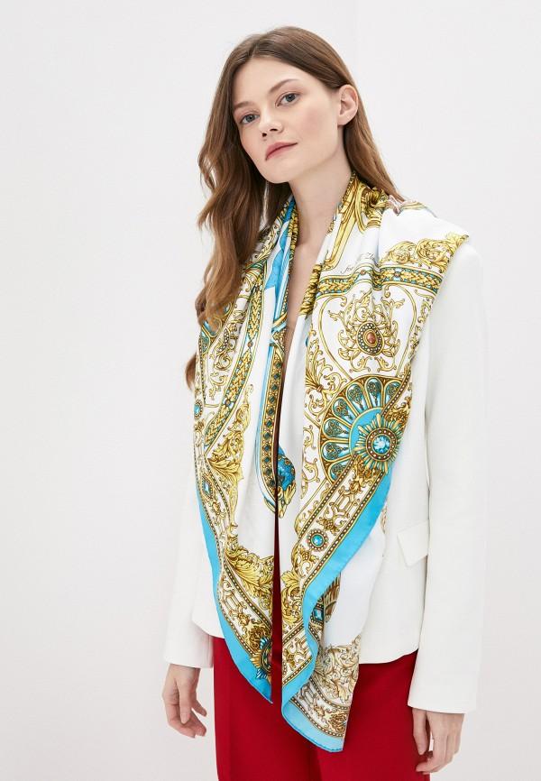 Платок Русские в моде цвет белый  Фото 3
