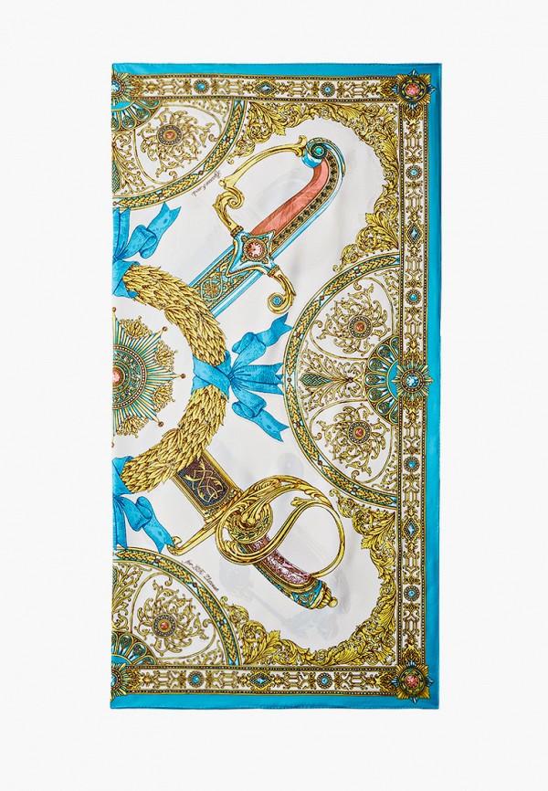 Платок Русские в моде цвет белый