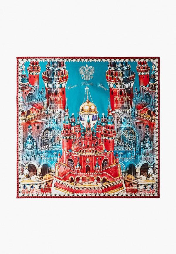 женский платок русские в моде, красный