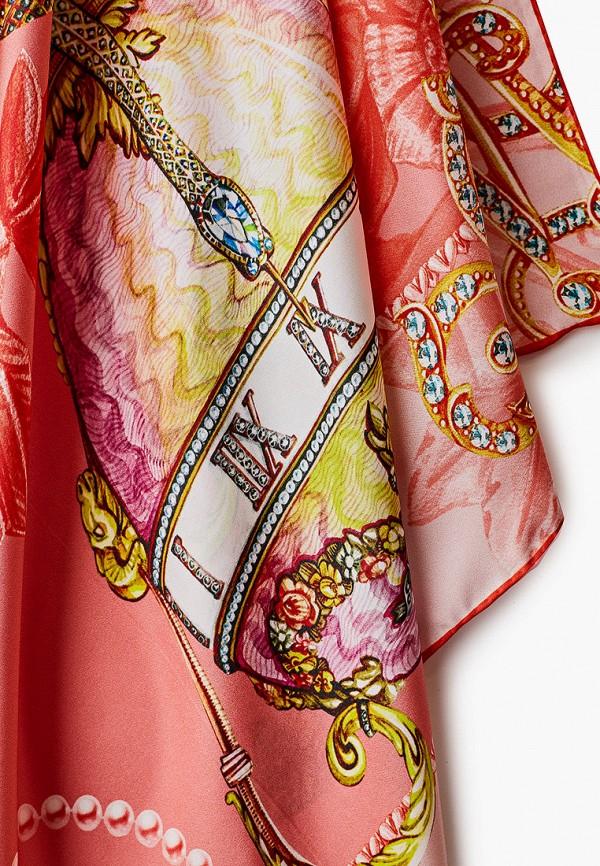 Платок Русские в моде цвет розовый  Фото 2