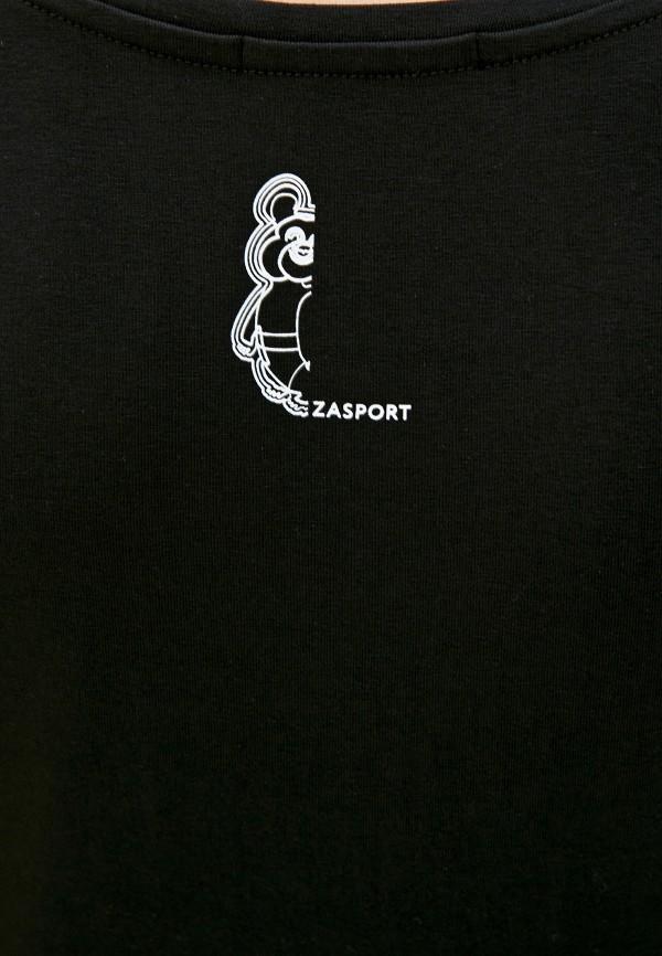 Футболка Zasport цвет черный  Фото 4