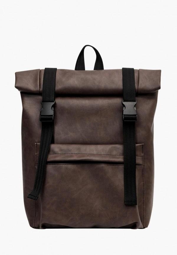 женский рюкзак sambag, коричневый