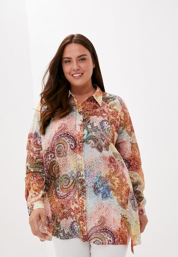 женская блузка с длинным рукавом silver string, разноцветная