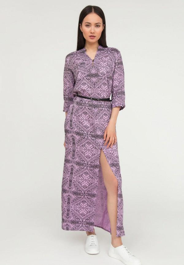 женское повседневные платье finn flare, розовое