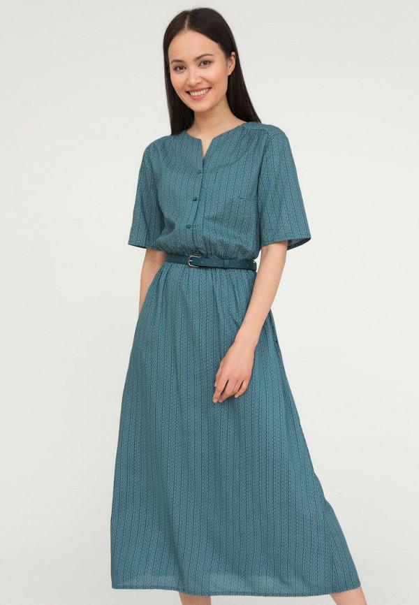 женское повседневные платье finn flare, бирюзовое