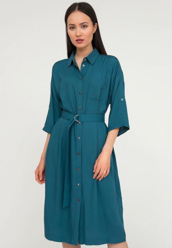 женское платье-рубашки finn flare, бирюзовое