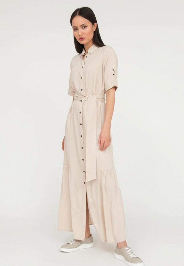 женское платье-рубашки finn flare, бежевое