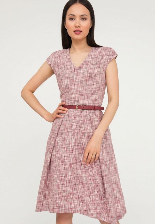 женское повседневные платье finn flare, красное