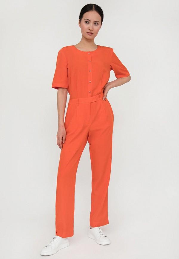 женский комбинезон с брюками finn flare, оранжевый