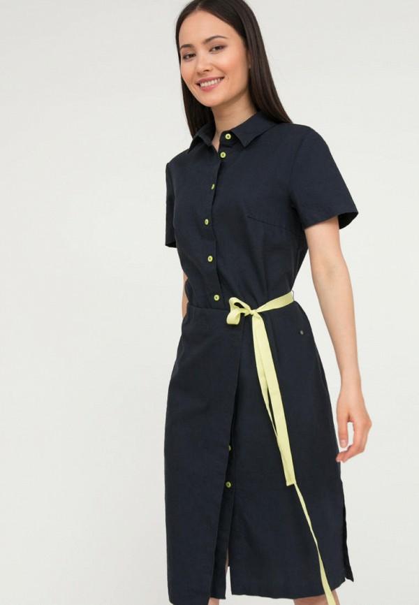 женское платье-рубашки finn flare, синее
