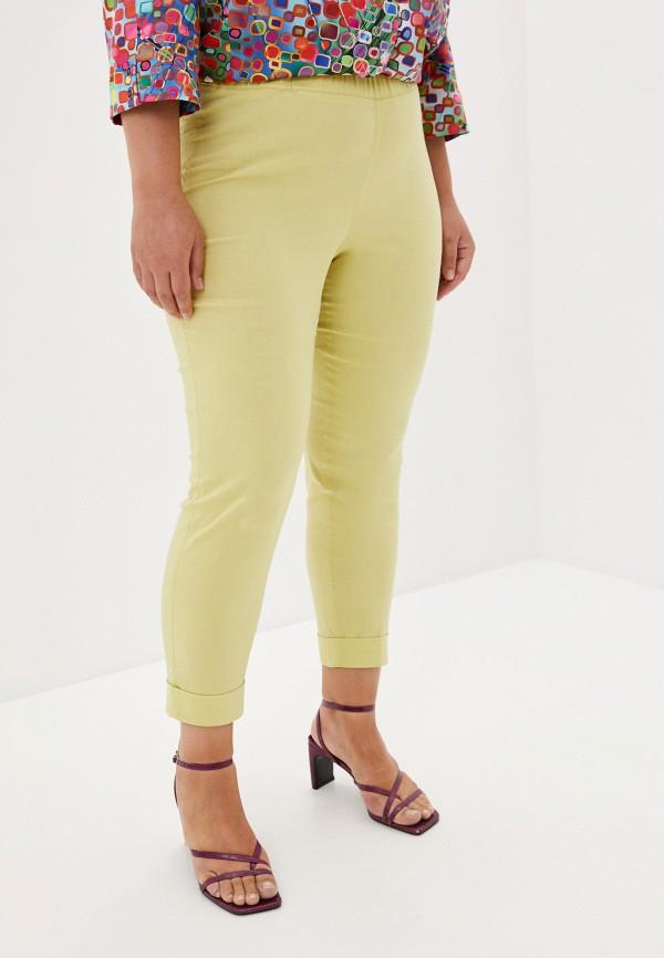 женские повседневные брюки silver string, желтые