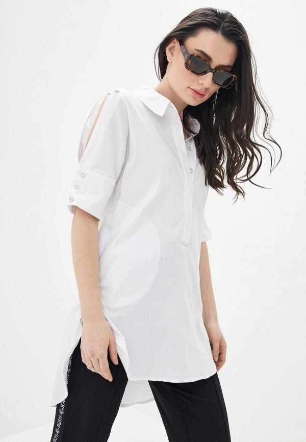 женская туника solh, белая
