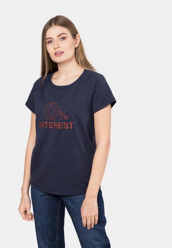 женская футболка mr520, синяя